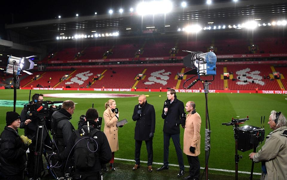 Anfield - - GETTY IMAGES
