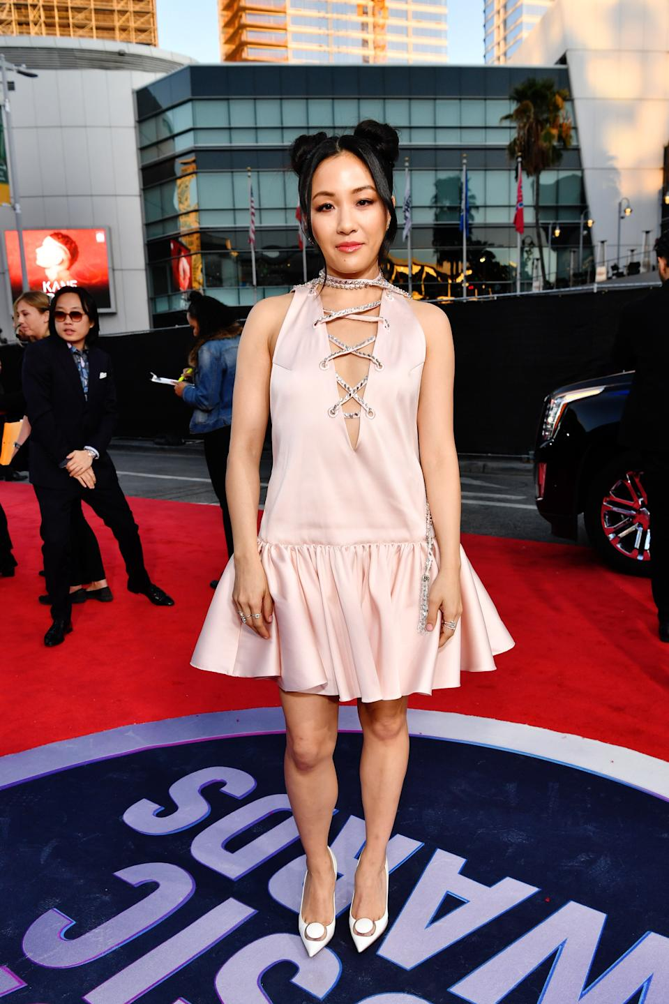 """<h1 class=""""title"""">Constance Wu in Christian Louboutin shoes</h1><cite class=""""credit"""">Photo: Getty Images</cite>"""