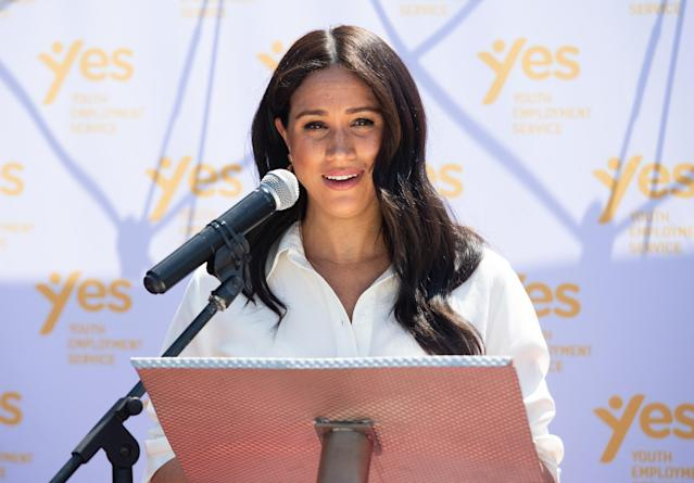 Much of Harry and Meghan's work in South Africa was around equality. (WireImage)