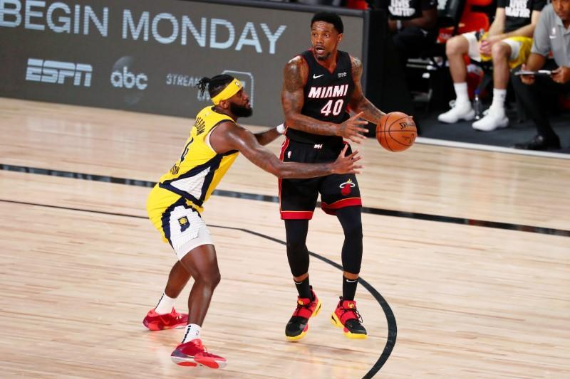 FILE PHOTO: NBA: Miami Heat at Indiana Pacers