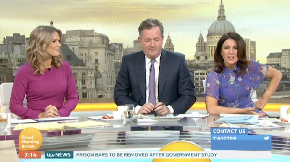 Piers Morgan is repulsed by the idea of women not shaving their armpits