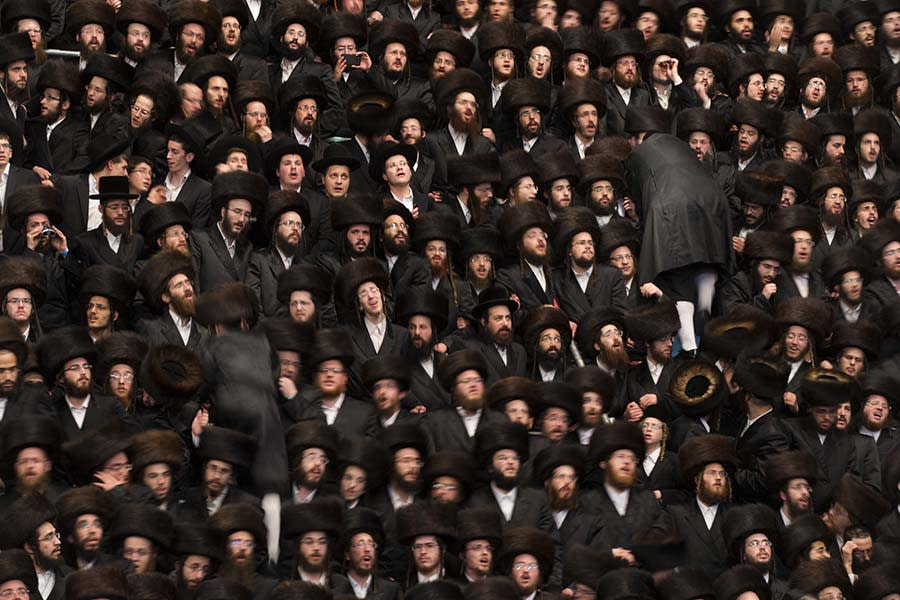 """<div class=""""caption-credit""""> Photo by: Getty Images</div><div class=""""caption-title""""></div>About 25,000 Ultra-Orthodox Jews from around the world attended the event, which took place in Jerusalem, Israel, on Tuesday, May 21."""