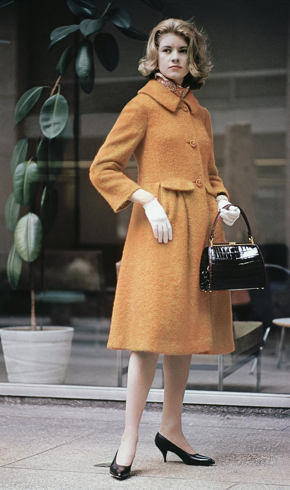 Martha Stewart in New York City in 1961.