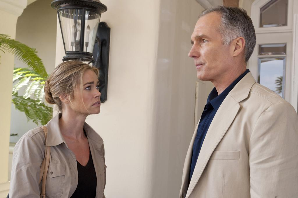 "Denise Richards (""Barbara"") and Patrick St. Espirit (""Jack"") star in the all-new Lifetime Original Movie, ""Blue Lagoon: The Awakening."""