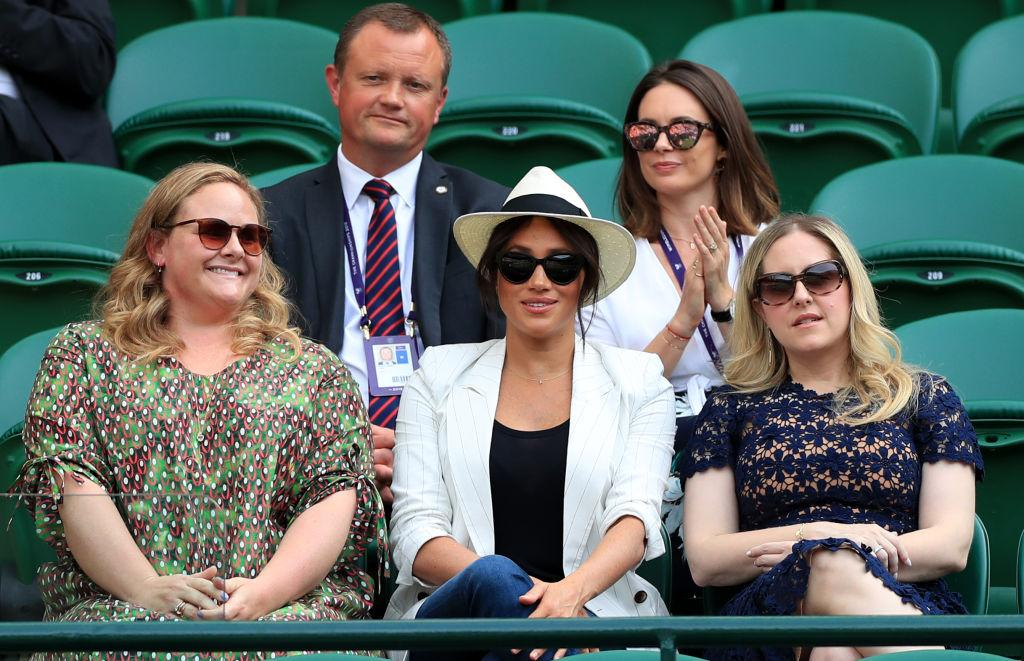 Piers Morgan has criticised the Duchess of Sussex after it was alleged Wimbledon fans were banned from taking pictures [Photo: Getty]