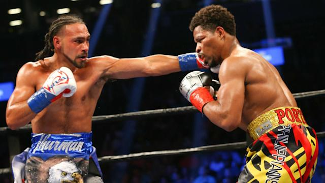 What does Shawn Porter offer Keith Thurman at this point aside from more bruising to his face and a lot of punches to the head? Absolutely nothing.
