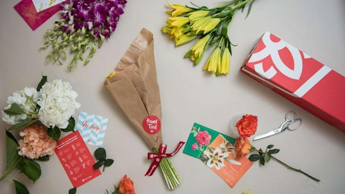 BloomsyBox will deliver flowers weekly or monthly for subscribers.
