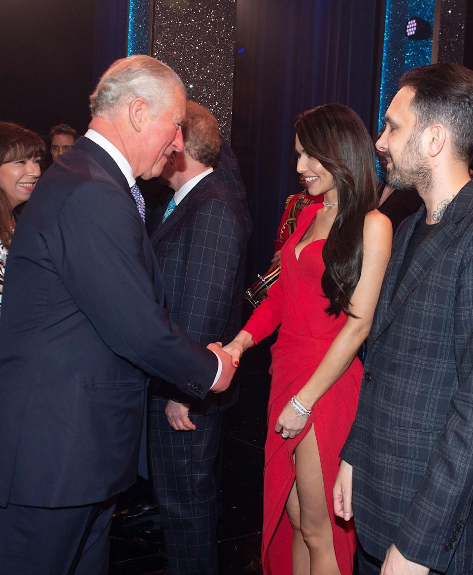 It's not the first time the singer has met Prince Charles, as she collaborated with the Prince's Trust to kick-start Cheryl's Trust – a charity designed to support disadvantaged young people in the North East [Photo: Rex]