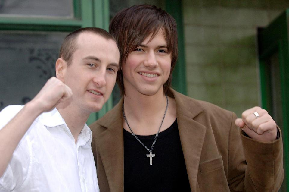 Andy Whyment (pictured with Richard Fleeshman) has been on the soap since he was a teenager. (Photo by Steve Parsons - PA Images/PA Images via Getty Images)