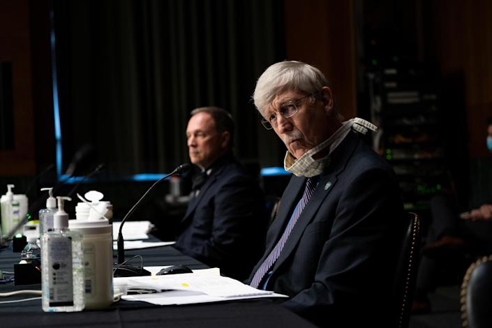 Dr. Francis Collins, director of the National Institutes of Health. (Anna Moneymaker/New York Times/Bloomberg via Getty Images)