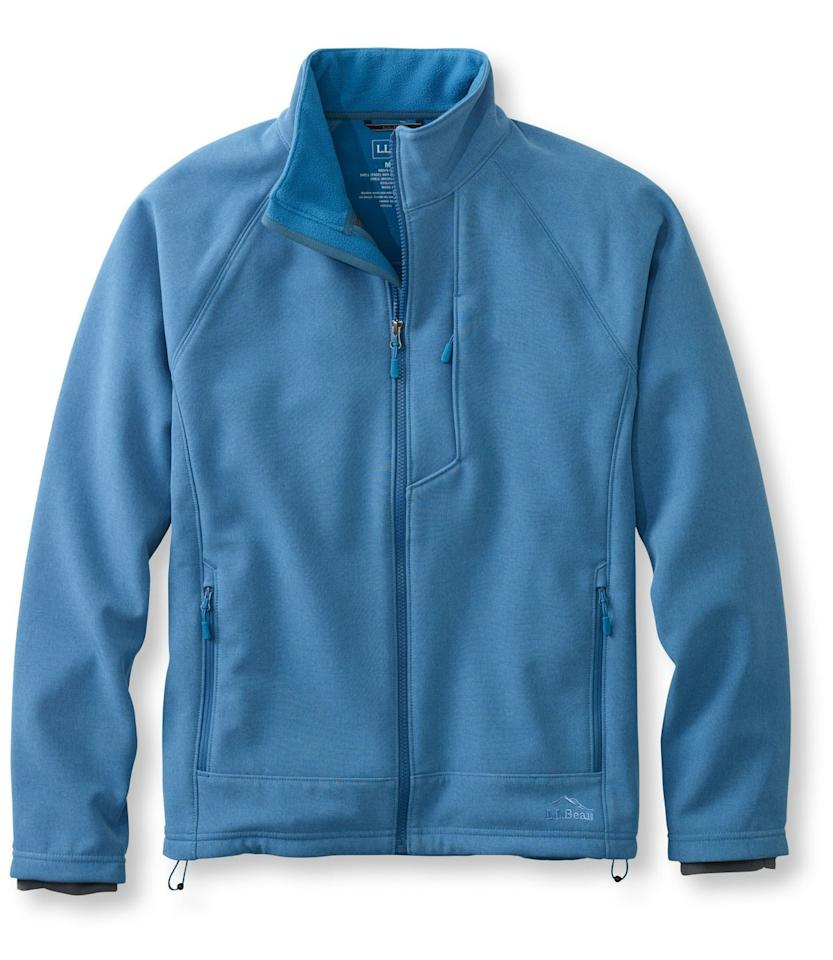 """<p><strong>L.L. Bean</strong></p><p>llbean.com</p><p><strong>$49.99</strong></p><p><a href=""""https://go.redirectingat.com?id=74968X1596630&url=https%3A%2F%2Fwww.llbean.com%2Fllb%2Fshop%2F91169%3Fpage%3Dmen-s-pathfinder-soft-shell-jacket%26bc%3D32-516686-298-6723%26feat%3D6723-GN3%26csp%3Ds%26attrValue_0%3DPacific%2BBlue%2BHeather&sref=http%3A%2F%2Fwww.popularmechanics.com%2Fadventure%2Foutdoor-gear%2Fg28784515%2Fll-bean-sale%2F"""" target=""""_blank"""">Buy Now</a></p><p>Whether you're hiking or doing yard work on a chilly winter day, this fleece pullover will keep you warm and protect you from the outdoor elements. Bonus: It features hand-warmer pockets on the sides to stow a few essentials, plus a chest pocket with a media port for your smartphone or music player. </p><p><a class=""""body-btn-link"""" href=""""https://go.redirectingat.com?id=74968X1596630&url=https%3A%2F%2Fwww.llbean.com%2Fllb%2Fshop%2F91169%3Fpage%3Dmen-s-pathfinder-soft-shell-jacket%26bc%3D32-516686-298-6723%26feat%3D6723-GN3%26csp%3Ds%26attrValue_0%3DPacific%2BBlue%2BHeather%26qs%3D3080290_tv2R4u9rImY-TSH_TlPdvAWNiH1PhJxmfA%26cvosrc%3DAffiliate.linkshare.tv2R4u9rImY&sref=http%3A%2F%2Fwww.popularmechanics.com%2Fadventure%2Foutdoor-gear%2Fg28784515%2Fll-bean-sale%2F"""" target=""""_blank"""">Shop Men's</a>   <a class=""""body-btn-link"""" href=""""https://go.redirectingat.com?id=74968X1596630&url=https%3A%2F%2Fwww.llbean.com%2Fllb%2Fshop%2F91144%3Fpage%3Dpathfinder-soft-shell-jacket%26bc%3D32-516686-302-6703%26feat%3D6703-GN3%26csp%3Ds%26attrValue_0%3DPacific%2BBlue%2BHeather&sref=http%3A%2F%2Fwww.popularmechanics.com%2Fadventure%2Foutdoor-gear%2Fg28784515%2Fll-bean-sale%2F"""" target=""""_blank"""">Shop Women's</a></p>"""