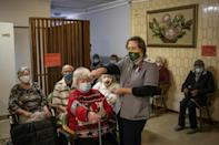 The retirement home has seen two Covid-19 outbreaks over the past year