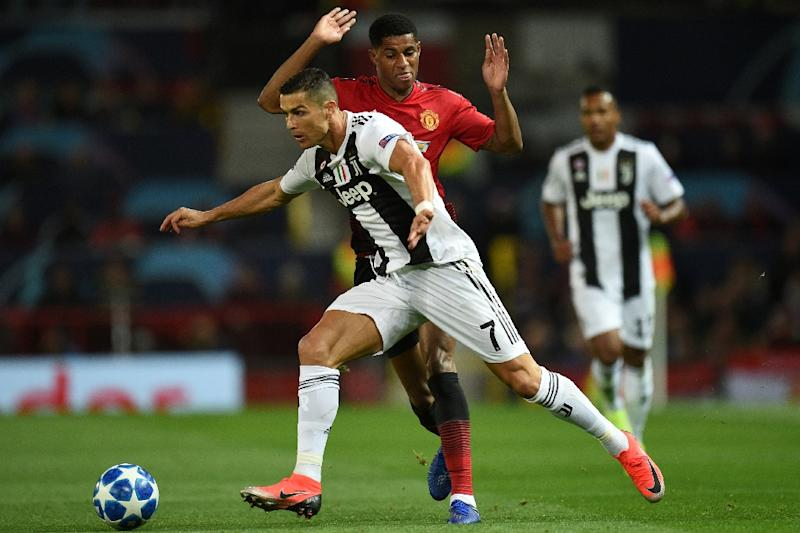 975896d17fd Ronaldo helps Juve sink Man Utd as Real Madrid win but fail to convince