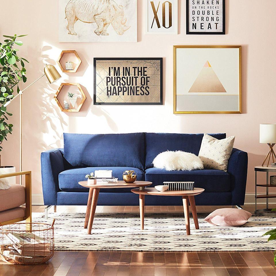 "<p>No one can deny that shopping for furniture in a <a href=""https://www.housebeautiful.com/shopping/g34609188/2021-best-home-stores/"" rel=""nofollow noopener"" target=""_blank"" data-ylk=""slk:physical store"" class=""link rapid-noclick-resp"">physical store</a> is pretty satisfying—you get to sit on tons of sofas, try out beds to your heart's content, and curl up in a bunch of <a href=""https://www.housebeautiful.com/design-inspiration/g30750815/chair-types-styles-designs/"" rel=""nofollow noopener"" target=""_blank"" data-ylk=""slk:different chairs"" class=""link rapid-noclick-resp"">different chairs</a> to help you find exactly the right one for you. But in terms of selection, the internet definitely has the brick-and-mortar shopping experience beat. Online, you have pretty much every store and style you can imagine at your disposal, just a few clicks away. You may not be able to test out <a href=""https://www.housebeautiful.com/shopping/furniture/g22716476/best-sofas-at-every-price/"" rel=""nofollow noopener"" target=""_blank"" data-ylk=""slk:a couch"" class=""link rapid-noclick-resp"">a couch</a> yourself when you shop online, but you can read reviews, and you can also search for the precise item you want, narrowed down by your price range, all from the comfort of your own home. And the best part? Pretty much all your favorite stores to shop IRL have online shopping options available to you.</p><p>But with all the options out there, shopping for furniture online <em>can</em> become pretty overwhelming. These online furniture stores—from shops you may not have heard of to brands you already know and love—make it easy for you, with tons of options in just about every style and at varying prices, from ultra affordable to totally high end. Check out the stores on this list to find options that might work for you, and you'll be adding the perfect chair or nightstand to your cart in no time. </p>"