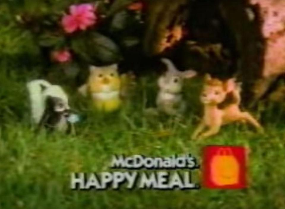 mcdonald's bambi happy meal toys