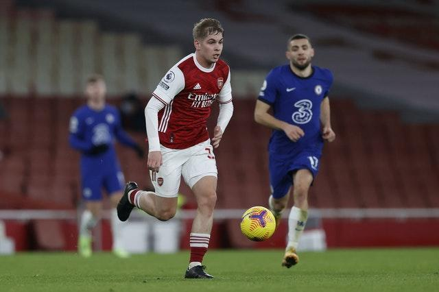 Emile Smith Rowe is seeing increasing minutes at Arsenal