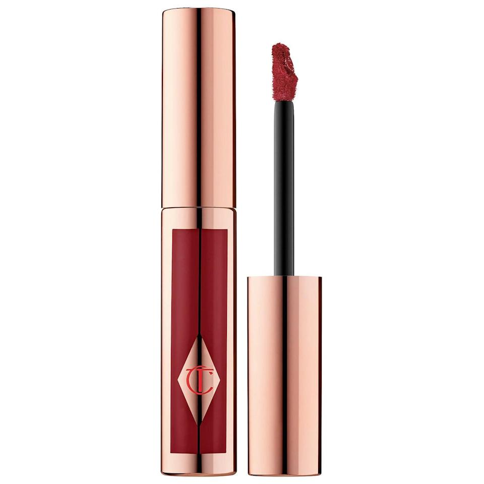 <p>The <span>Charlotte Tilbury Hollywood Lips Liquid Lipstick</span> ($34) is a velvety-soft liquid lipstick that leaves lips moisturized. </p>