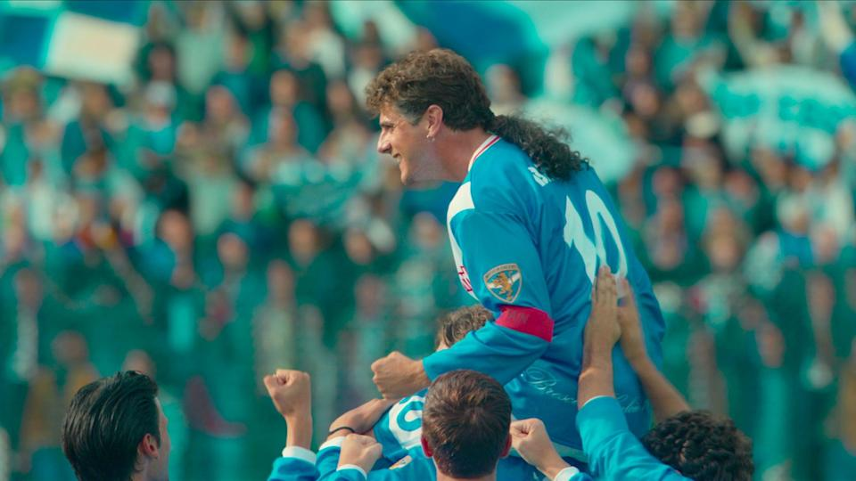 """<p>This film is based on the life of Italian soccer star Roberto Baggio and his 22-year career, including his difficult debut as a player to his iconic penalty kick in the 1994 World Cup final. </p> <p><strong>When it's available: </strong><a href=""""https://www.netflix.com/title/81211064"""" class=""""link rapid-noclick-resp"""" rel=""""nofollow noopener"""" target=""""_blank"""" data-ylk=""""slk:May 26"""">May 26</a></p>"""
