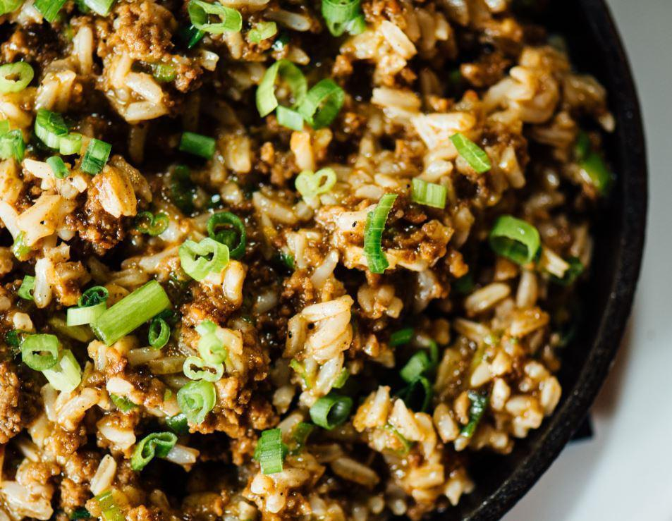 """<p>There's nothing dirty about this rice. Dirty rice gets its name from the combination of meats, vegetables and seasonings that causes the white rice to change color. If you made too much rice the night before, this dish is one of <a href=""""https://www.thedailymeal.com/how-to-use-up-leftovers?referrer=yahoo&category=beauty_food&include_utm=1&utm_medium=referral&utm_source=yahoo&utm_campaign=feed"""" rel=""""nofollow noopener"""" target=""""_blank"""" data-ylk=""""slk:the best ways to use leftovers"""" class=""""link rapid-noclick-resp"""">the best ways to use leftovers</a>.</p> <p><a href=""""https://www.thedailymeal.com/recipes/dirty-rice-new-orleans-recipe?referrer=yahoo&category=beauty_food&include_utm=1&utm_medium=referral&utm_source=yahoo&utm_campaign=feed"""" rel=""""nofollow noopener"""" target=""""_blank"""" data-ylk=""""slk:For the Dirty Rice recipe, click here."""" class=""""link rapid-noclick-resp"""">For the Dirty Rice recipe, click here.</a></p>"""
