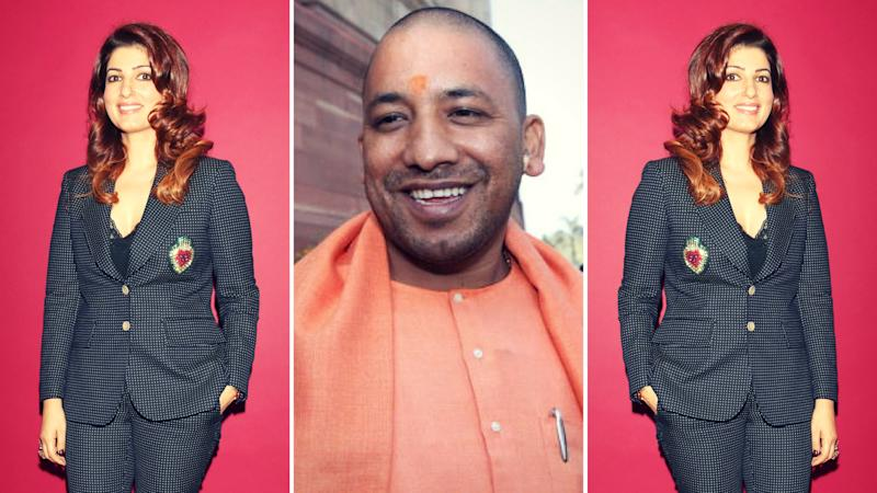 Yogi Adityanath Should Do 'Gas-Releasing' Asana: Twinkle Khanna
