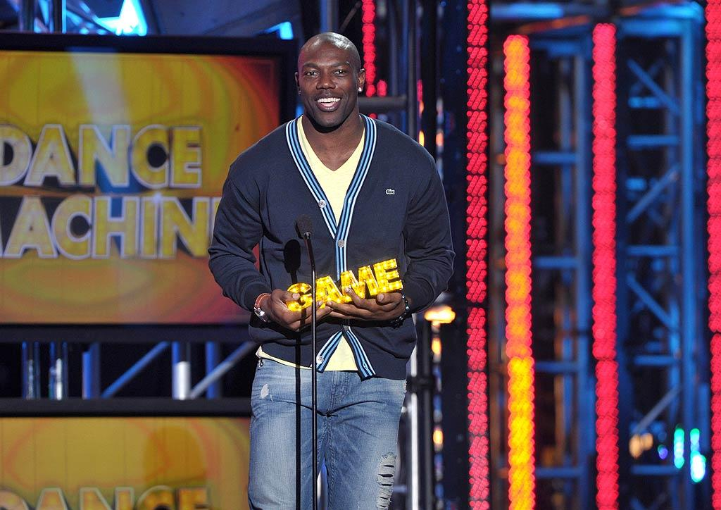 "Cincinnati Bengals wide receiver Terrell Owens was nominated for the ""Dance Machine"" award for best dance moves. His competition? The South African soccer team and Venus Williams. John Shearer/<a href=""http://www.wireimage.com"" target=""new"">WireImage.com</a> - February 21, 2011"