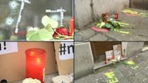 Suspect's neighbour reacts as Vienna mourns deadly terror shooting