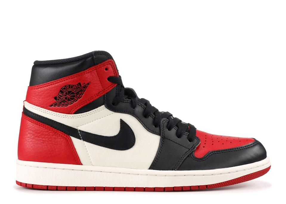 "<p>flightclub.com</p><p><strong>$550.00</strong></p><p><a href=""https://www.flightclub.com/air-jordan-1-retro-high-og-gym-red-black-summit-white-802799"" rel=""nofollow noopener"" target=""_blank"" data-ylk=""slk:Shop Now"" class=""link rapid-noclick-resp"">Shop Now</a></p><p>For the Michael Jordan superfan in your life who won't stop talking about <em>The Last Dance</em>, a pair of Air Jordans is a foolproof gift. Plus, the most iconic Jordan models, such as these, <a href=""https://www.townandcountrymag.com/society/money-and-power/a32461233/air-jordans-investing-sothebys-2020/"" rel=""nofollow noopener"" target=""_blank"" data-ylk=""slk:will only appreciate in value"" class=""link rapid-noclick-resp"">will only appreciate in value</a> over time, meaning you'll be buying him the perfect present <em>and </em>making a sound investment.</p>"