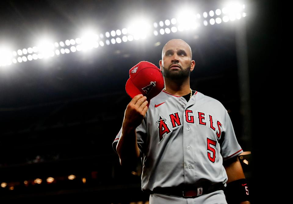 After 11 seasons with the Cardinals and 10 seasons playing for the Angels, Albert Pujols is on his third and possibly final MLB team.