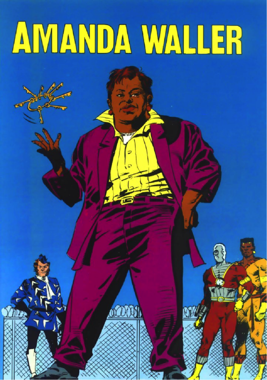 The Suicide Squad's Amanda Waller makes her debut in the DC mini series Legends in 1986.