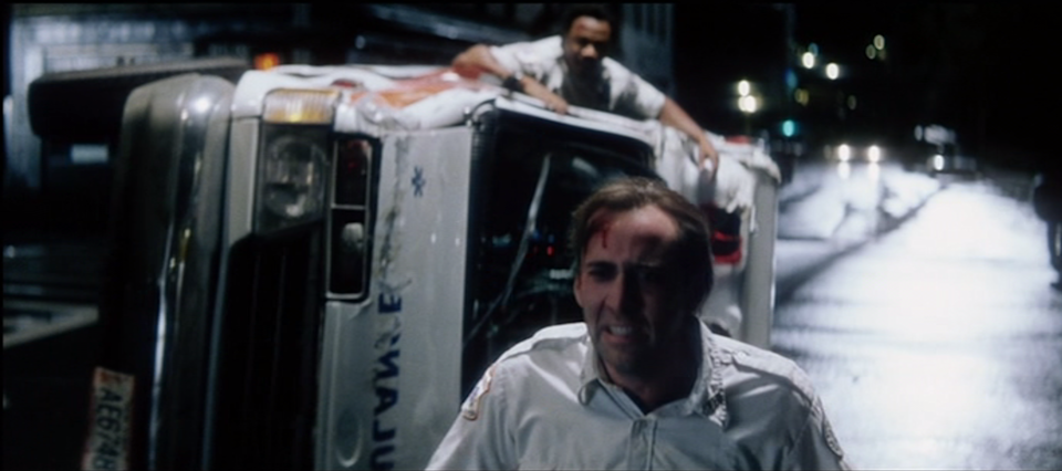 Nicolas Cage and Ving Rhames in 'Bringing Out The Dead'