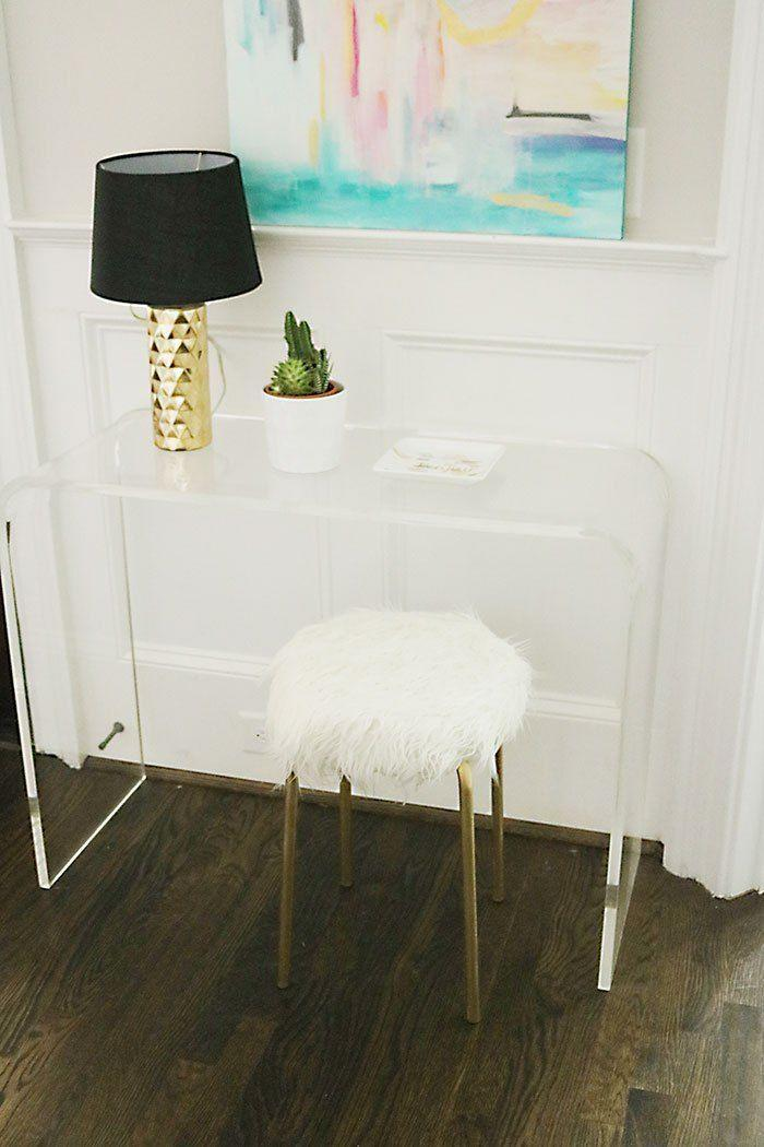 """<p>Would you ever be able to tell that this stool by Darleen of <a href=""""http://darlingdarleen.com/"""" rel=""""nofollow noopener"""" target=""""_blank"""" data-ylk=""""slk:Darling Darleen"""" class=""""link rapid-noclick-resp"""">Darling Darleen</a> is the same one you just saw? I'm so impressed.</p><p>See more at <a href=""""http://darlingdarleen.com/2016/02/diy-ikea-hack-white-fur-stool/"""" rel=""""nofollow noopener"""" target=""""_blank"""" data-ylk=""""slk:Darling Darleen"""" class=""""link rapid-noclick-resp"""">Darling Darleen</a>.</p><p><a class=""""link rapid-noclick-resp"""" href=""""https://www.amazon.com/gp/product/B0057RVHIU/?tag=syn-yahoo-20&ascsubtag=%5Bartid%7C2089.g.29514474%5Bsrc%7Cyahoo-us"""" rel=""""nofollow noopener"""" target=""""_blank"""" data-ylk=""""slk:BUY NOW"""">BUY NOW</a> <strong><em>Faux Mongolian Fur, amazon.com</em></strong></p>"""