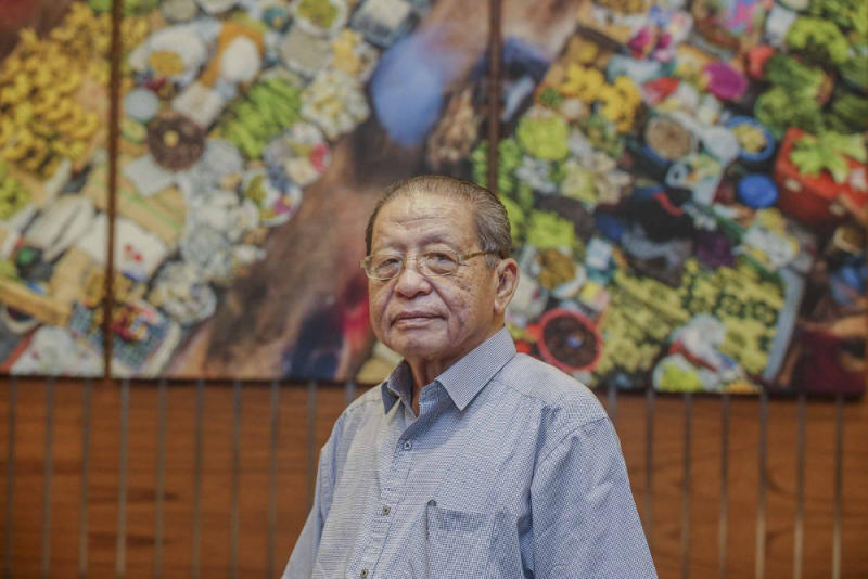 Lim said the perception of infighting within PH would give its foes cause to celebrate. — Picture by Firdaus Latif