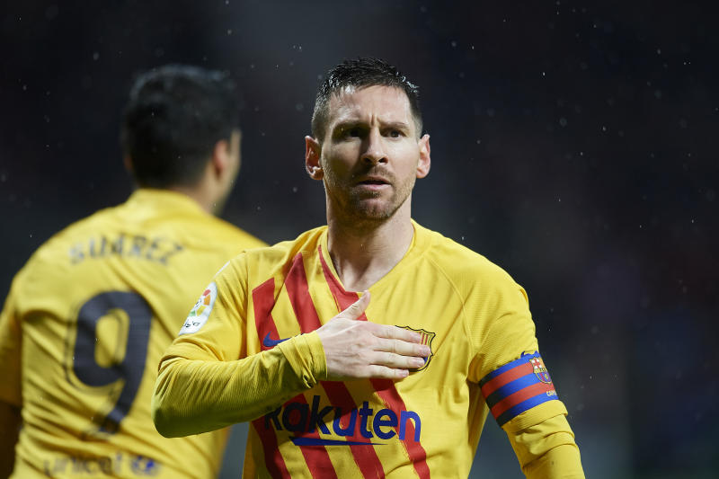 Lionel Messi is still the difference between Barcelona and Atletico Madrid, as well as many other clubs. (Photo by Jose Breton/Pics Action/NurPhoto via Getty Images)