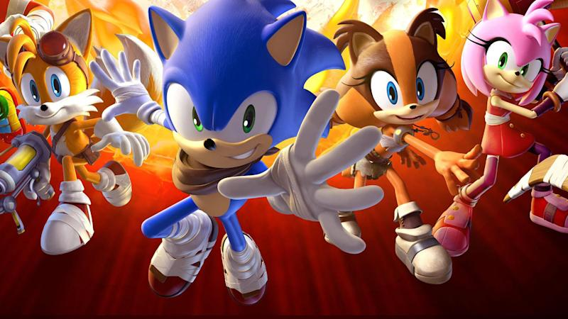 A canvas of blue blurs: The U.K. is hosting Sonic the Hedgehog art exhibitions