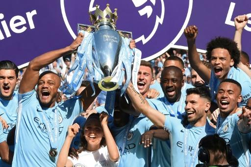 Catch us if you can: Manchester City are the team to beat in next season's Premier League