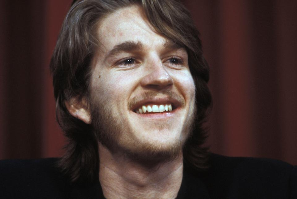 L'acteur Matthew Modine au Festival de Cannes en mai 1985, France. (Photo by Jean-Jacques BERNIER/Gamma-Rapho via Getty Images)