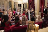 """<p>One of the most exciting parts about the early stages of <em>The Bachelor</em> is learning about the women—seeing who is and isn't aggressively grabbing time with the star and trying to suss out who will be a good fit for next season's lead. That, and how many dental hygienists and women named Lauren the casting agents can fit into one season. <br> <br>Well,<a href=""""https://www.womenshealthmag.com/life/a34439933/bachelor-spoilers-2021-matt-james/"""" rel=""""nofollow noopener"""" target=""""_blank"""" data-ylk=""""slk:Matt James' season of"""" class=""""link rapid-noclick-resp""""> Matt James' season of </a><em><a href=""""https://www.womenshealthmag.com/life/a34439933/bachelor-spoilers-2021-matt-james/"""" rel=""""nofollow noopener"""" target=""""_blank"""" data-ylk=""""slk:The Bachelor"""" class=""""link rapid-noclick-resp"""">The Bachelor</a> </em>has launched, and there are already so many women making their mark. But, hold onto your pants, because fans haven't even met them all: Host Chris Harrison previously boasted there will be a """"record number of women"""" vying for Matt's final rose during his """"bigger"""" and """"grander"""" season 25. <br> <br>Apparently, a lot is happening this season—for both the women <em>and </em>Matt. """"He is a different man than when he came to us, and he got really a crash course because he didn't get the few steps of being on the show,"""" Chris told <a href=""""https://www.usmagazine.com/entertainment/news/matt-james-had-a-rude-awakening-filming-the-bachelor/"""" rel=""""nofollow noopener"""" target=""""_blank"""" data-ylk=""""slk:Us Weekly"""" class=""""link rapid-noclick-resp""""><em>Us Weekly</em></a> in late November. """"He really just ripped the Band-Aid off and sometimes that hurts a little bit. So, I think he had a bit of a rude awakening of the man he is, the way he loves [and] what love means to him. It really is an amazing journey you're going to take with Matt, not just as the <em>Bachelor </em>but also as this man who realizes, 'Wow, okay, this is love and this is what it means and I'm really here to find this.'"""" </p>"""