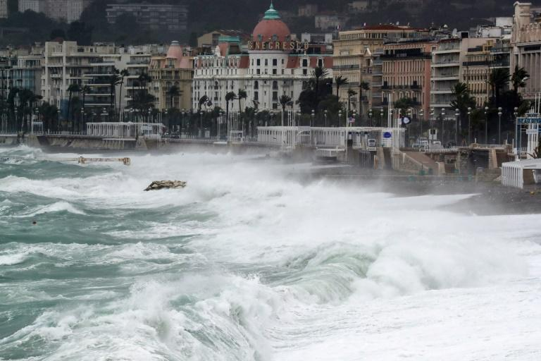 Thousands without power as storms lash France