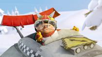 """<p><strong>Hulu's Description:</strong> """"After losing a rigged sled race, Frankie challenges newcomer Zac to one last showdown. With the stakes higher than ever, Zac will stop at nothing to win the race.""""</p> <p><span>Stream <strong>Racetime</strong> on Hulu!</span></p>"""