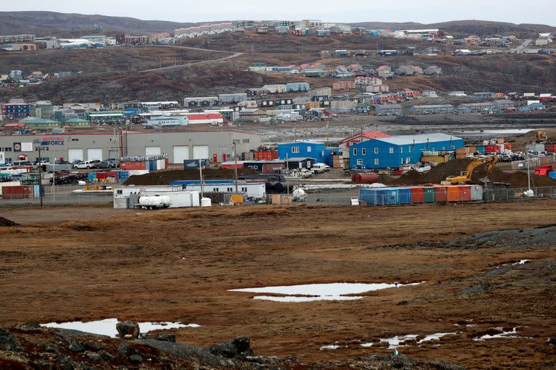 FILE PHOTO: General view of Iqaluit, Nunavut