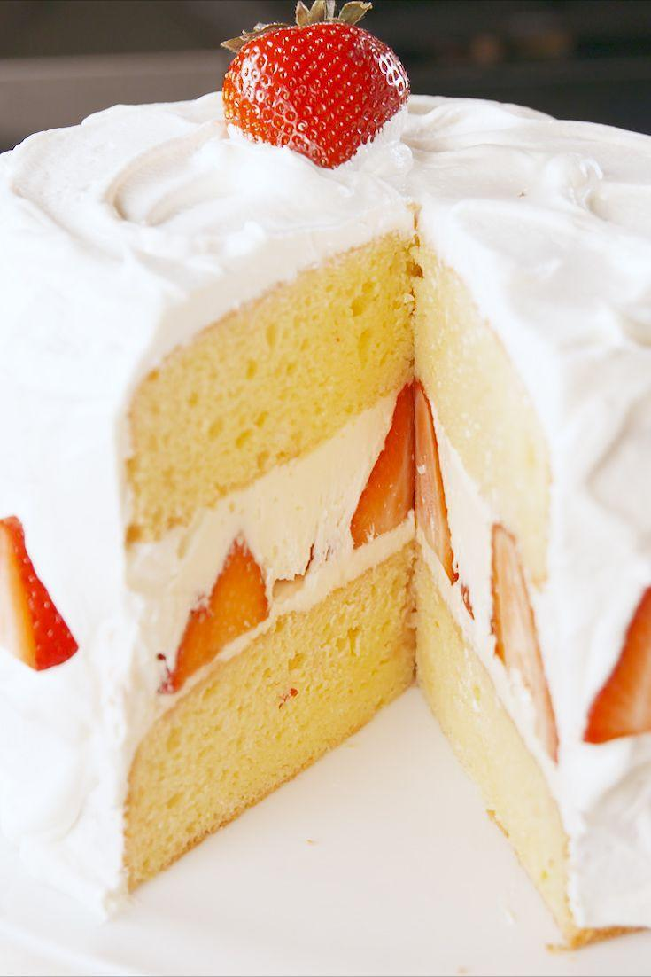 "<p>Even better than the original.</p><p>Get the recipe from <a href=""https://www.delish.com/cooking/recipe-ideas/a19856526/strawberry-shortcake-layer-cake-recipe/"" rel=""nofollow noopener"" target=""_blank"" data-ylk=""slk:Delish"" class=""link rapid-noclick-resp"">Delish</a>.</p>"