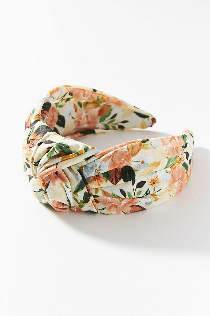 """<p><strong>Anthropologie</strong></p><p>anthropologie.com</p><p><strong>$20.00</strong></p><p><a href=""""https://go.redirectingat.com?id=74968X1596630&url=https%3A%2F%2Fwww.anthropologie.com%2Fshop%2Ftaylor-tie-dye-headband&sref=https%3A%2F%2Fwww.oprahmag.com%2Fstyle%2Fg33414958%2Fbest-headbands%2F"""" rel=""""nofollow noopener"""" target=""""_blank"""" data-ylk=""""slk:Shop Now"""" class=""""link rapid-noclick-resp"""">Shop Now</a></p><p>Super easy to throw on, this muted floral headband is definitely a statement making accessory that will instantly upgrade your go-to Zoom white Tee.</p>"""