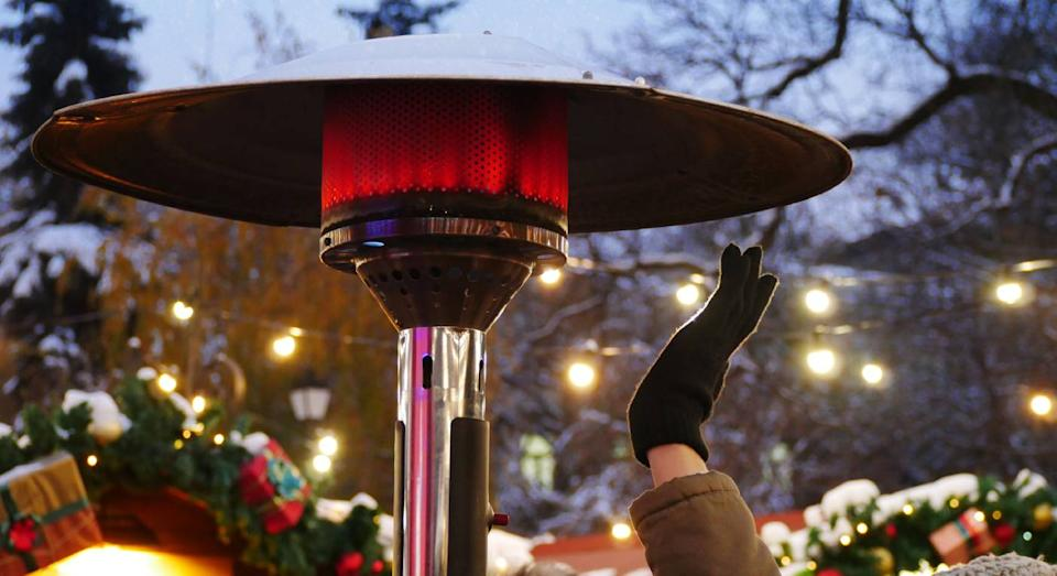 Best outdoor heaters to keep you warm during a chilly outdoor drink. (Getty Images)