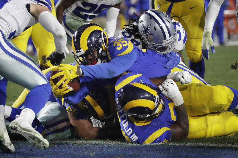 Rams rush past Cowboys, advance with 30-22 playoff victory
