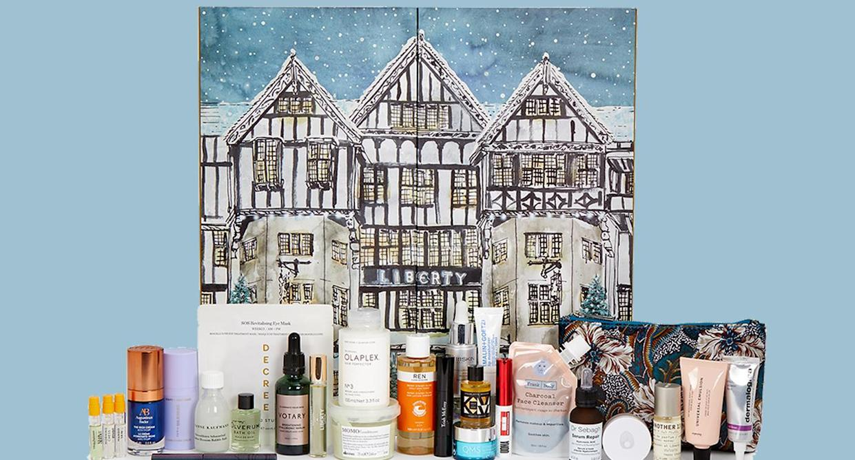 Everything you need to know about the ever popular Liberty Beauty Advent Calendar. (Liberty London)