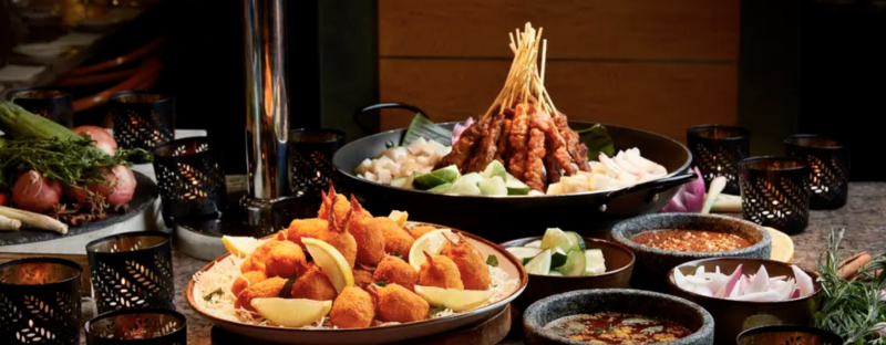 Window on the Park at Holiday Inn® Singapore Orchard City Centre, 2 Persons buffet from S$58.29. PHOTO: Klook