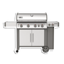 """Described as """"a grill that has it all,"""" it gets no better than Weber. Enhance dad's summer experience with this grilling engine that stands out amongst the rest. $1299, Weber. <a href=""""https://www.weber.com/US/en/grills/gas-grills/genesis-ll/genesis-ii-s-435-gas-grill/62006001.html?"""" rel=""""nofollow noopener"""" target=""""_blank"""" data-ylk=""""slk:Get it now!"""" class=""""link rapid-noclick-resp"""">Get it now!</a>"""