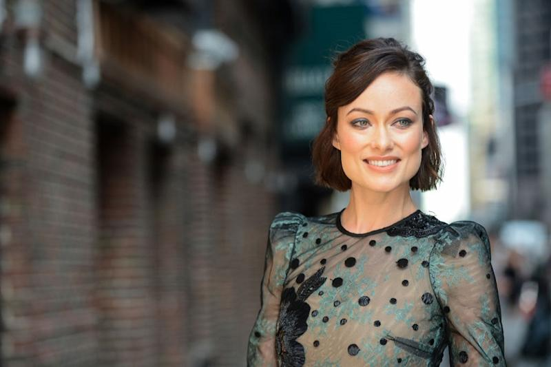 Olivia Wilde is getting mom-shamed for kissing her son in this Instagram photo