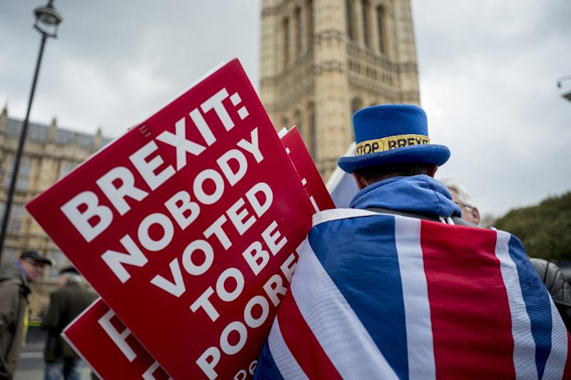 Some politicians in London and Brussels are still hoping Brexit might never happen (AFP Photo/Tolga Akmen)