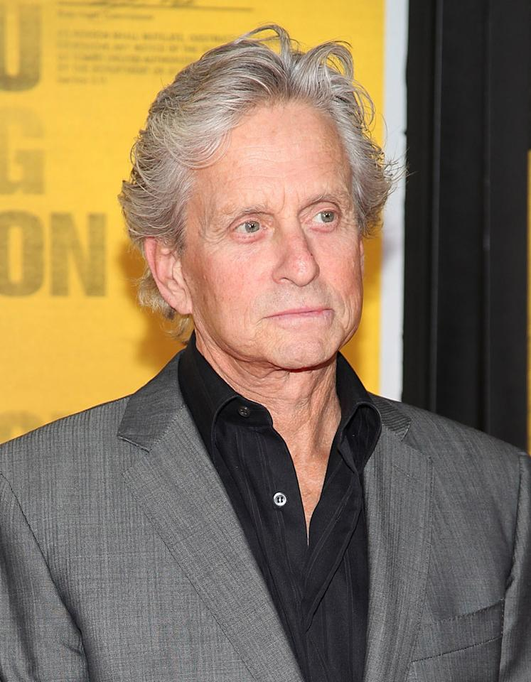 "Michael Douglas<br><br>Age: 66<br><br>Achievements: Douglas is estimated to be worth $200 million, having won two Academy Awards, three Golden Globes and being awarded the<a href=""http://en.wikipedia.org/wiki/American_Film_Institute""></a> 2009 AFI Life Achievement Award.<br><br>(Photo by Taylor Hill/FilmMagic)"